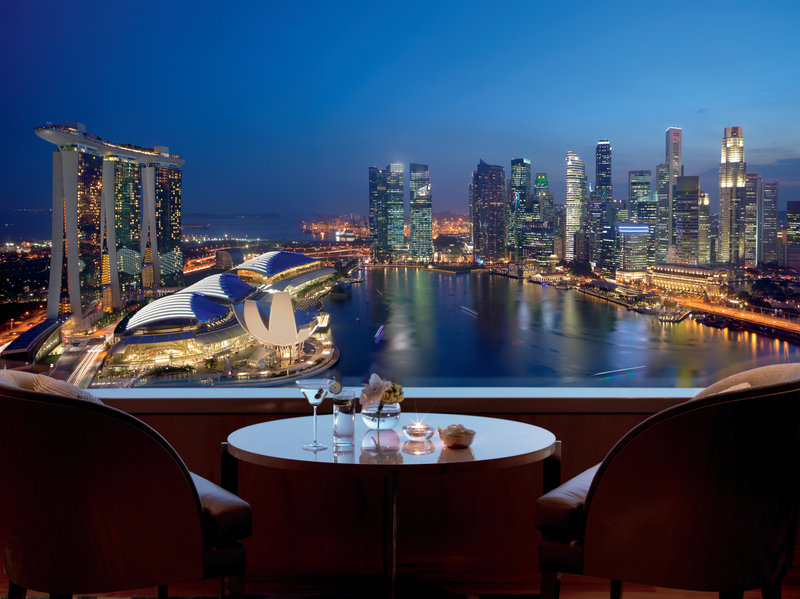 The Ritz-Carlton Millenia Singapore Vista esterna