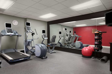 Homewood Suites by Hilton Fort Myers - The Fitness Center at the Homewood Suites by Hilton Fort Myers
