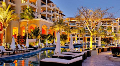 Casa Dorada Los Cabos Resort & Spa - Resort at night