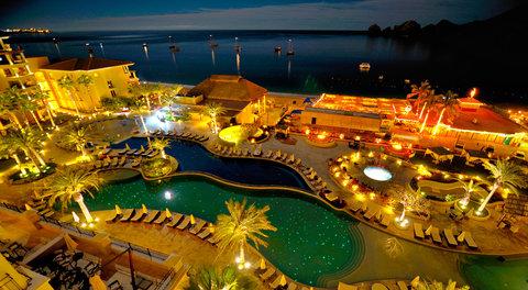 Casa Dorada Los Cabos Resort & Spa - Pool at night