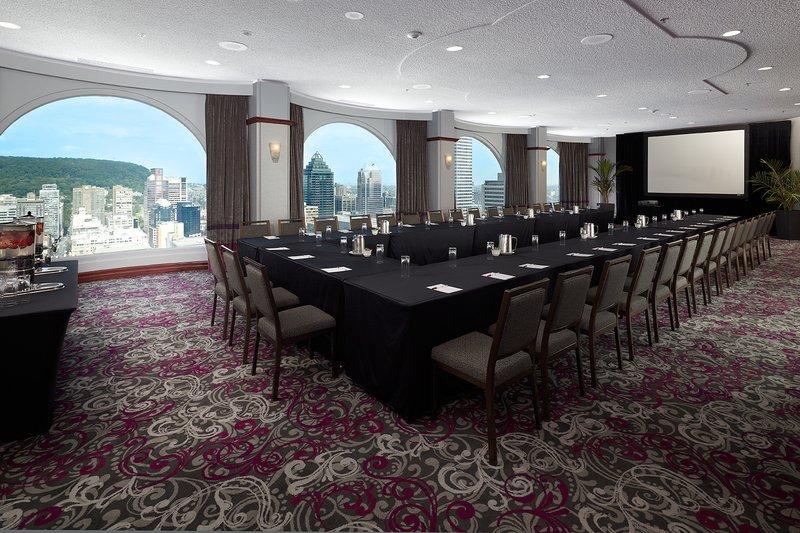Montreal Marriott  Chateau Champlain Kokoustila