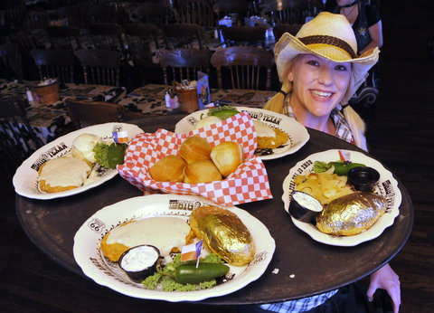 Best Western Santa Fe Inn Hotel - Big Texan Waitress