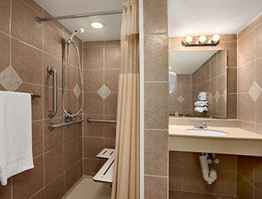 Days Inn Butler Conference Center - ADA Bathroom