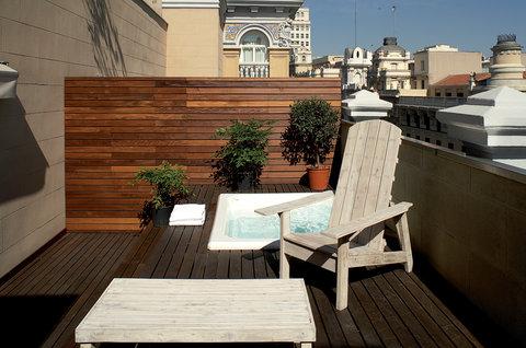 Exe De Las Letras - Superior Room With Terrace Jacuzzi