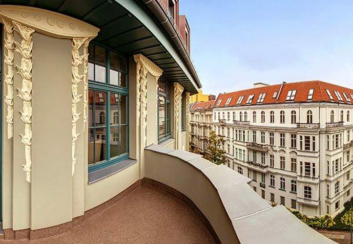 Hotel Am Steinplatz, Autograph Collection® Berlin Hotel Balcony