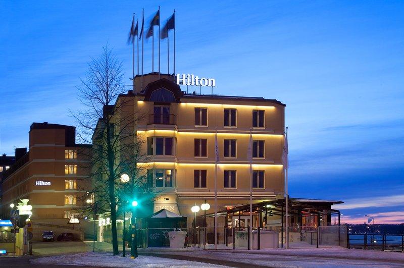 Hilton Stockholm Slussen Vue extérieure
