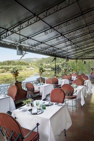 Villa La Massa - Il Verrocchio Restaurant - Terrace  Vertical