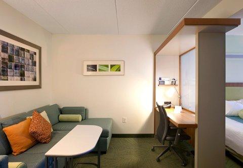 SpringHill Suites Athens - Queen Queen Suite Living Area