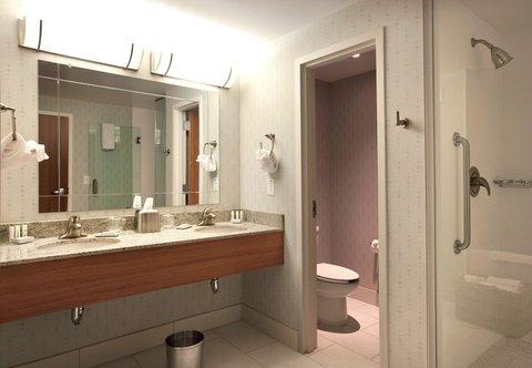 SpringHill Suites Athens - King Suite Vanity