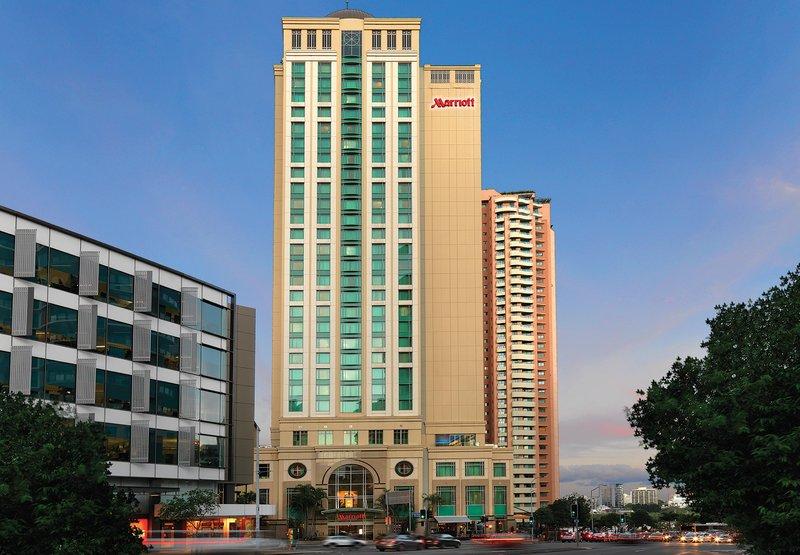 Marriott Brisbane Set udefra