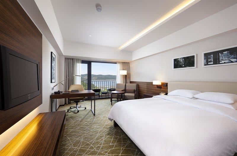 Gyeongju Hilton Szobakilátás