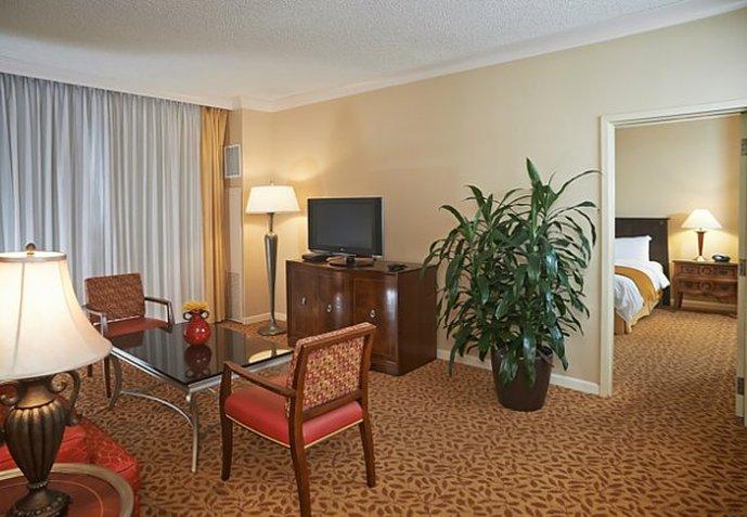 Marriott Jacksonville Vista de la habitación