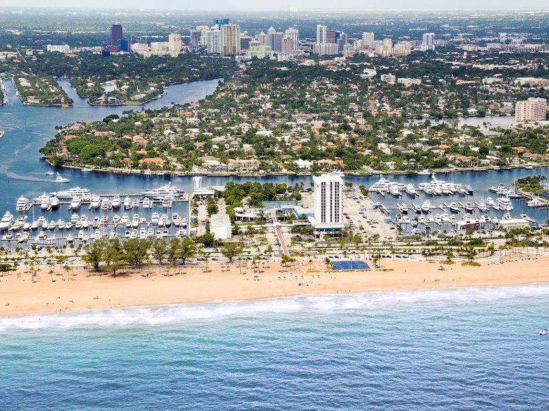 Bahia Mar Fort Lauderdale Beach - a DoubleTree by Hilton Hotel Vue extérieure