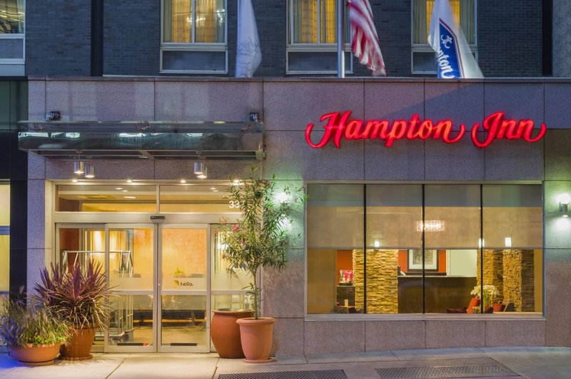 Hampton Inn Manhattan/Times Square South Pohled zvenku