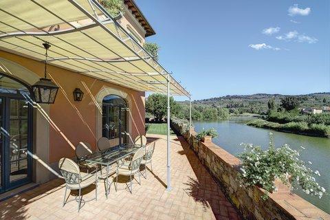 Villa La Massa - Presidential Suite - Terrace