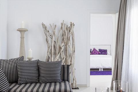Myconian Imperial Resort & Thalasso Spa Center - Villa Elegant Living Room