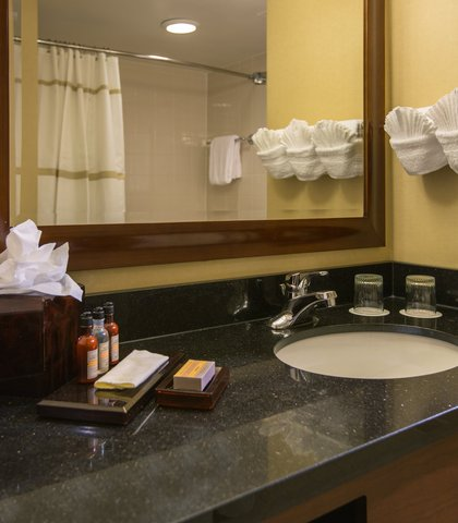 Baltimore Marriott Inner Harbor at Camden Yards - Guest Room Bathroom