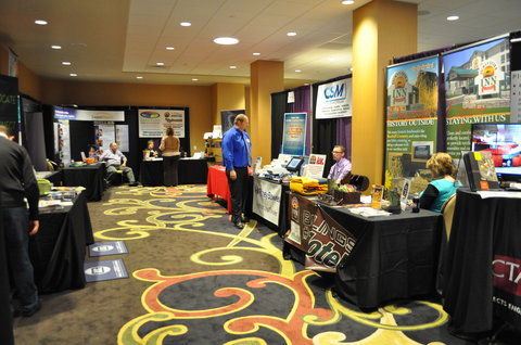 Northern Hotel Summit Hotels and Resorts - Ballroom with Vendor Booths