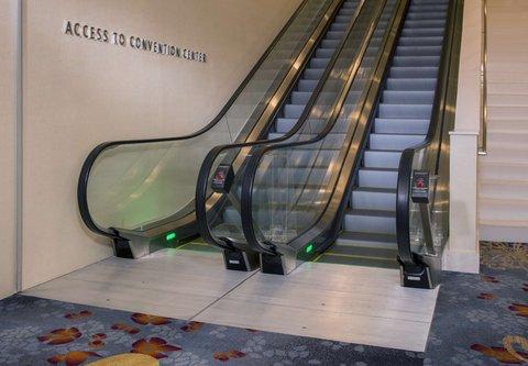 Marriott Marquis Washington, DC - Escalator to Convention Center