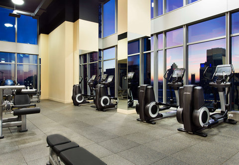 Courtyard Downtown Marriott - Fitness Center