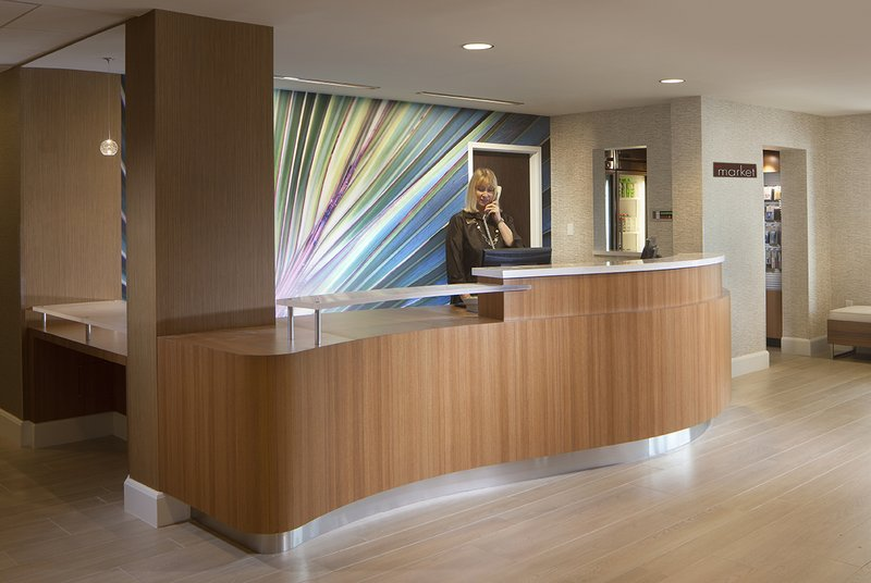 SpringHill Suites Boca Raton Lobby