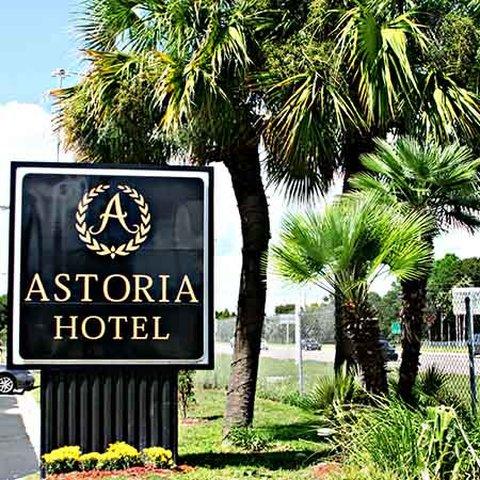 Astoria Hotel Suites Orange Pa - Astoria Hotel Orange Park Exterior