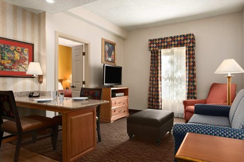 Homewood Suites by Hilton Fort Myers - Suite Living Room Area