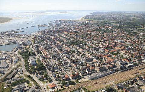 Cabinn Esbjerg - Aerial