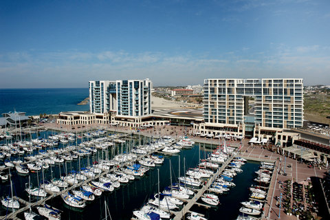 The Ritz-Carlton, Herzliya - The Ritz-Carlton  Herzliya overlooking the largest