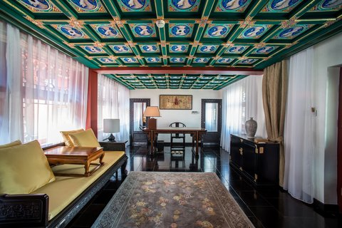 Lv Garden Huanghuali Art Galle - Chan Gong Study  Imperial Retreatn Guestroom