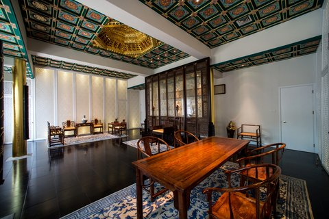 Lv Garden Huanghuali Art Galle - Han Yuan Dian  Imperial Retreat Guestroom