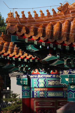 Lv Garden Huanghuali Art Galle - Exterior Facade Details