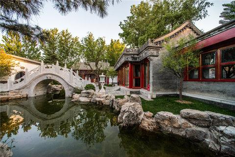 Lv Garden Huanghuali Art Galle - West Garden  partial