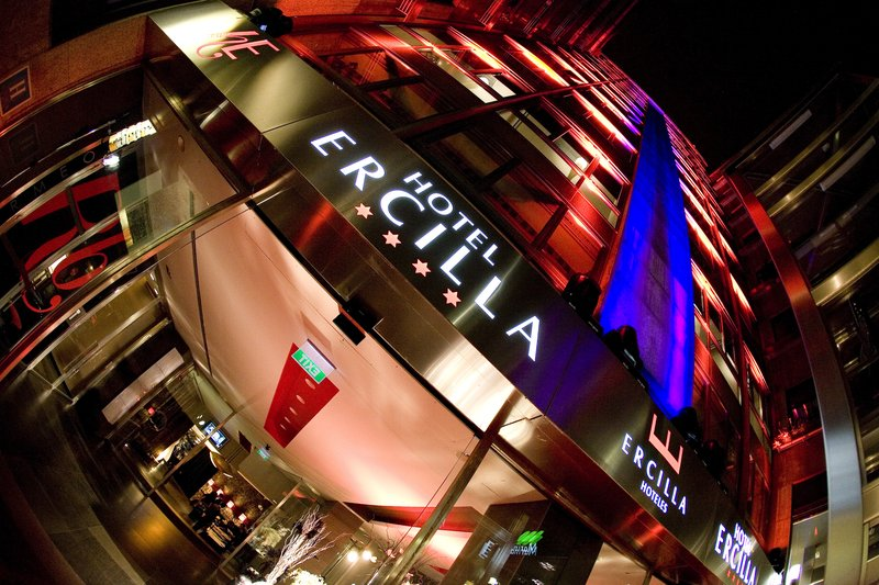 Hotel Ercilla Fasad