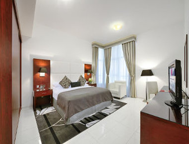 Ramada Hotel Apartments Sharjah Kameraanzicht