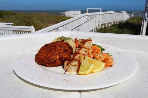 Ramada Plaza Nags Head Oceanfront - Seafood Sampler