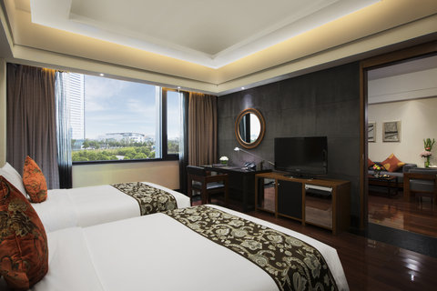 Worldhotel Grand DushuLake Suzhou - Superior Suite Twin Bed