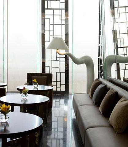 Hong Kong SkyCity Marriott Hotel Bar/salón