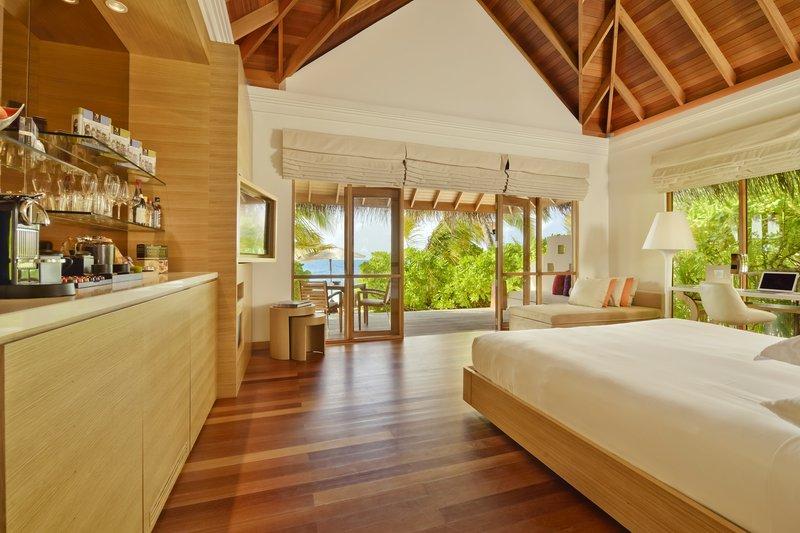 Huvafen Fushi Resort & Spa Huonenäkymä