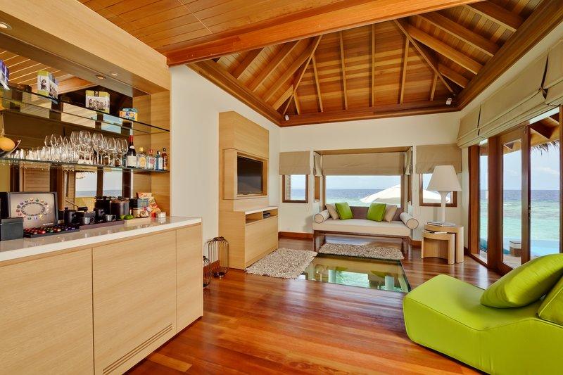 Huvafen Fushi Resort & Spa Lobby