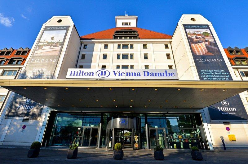 Hilton Vienna Danube Waterfront Vue extérieure