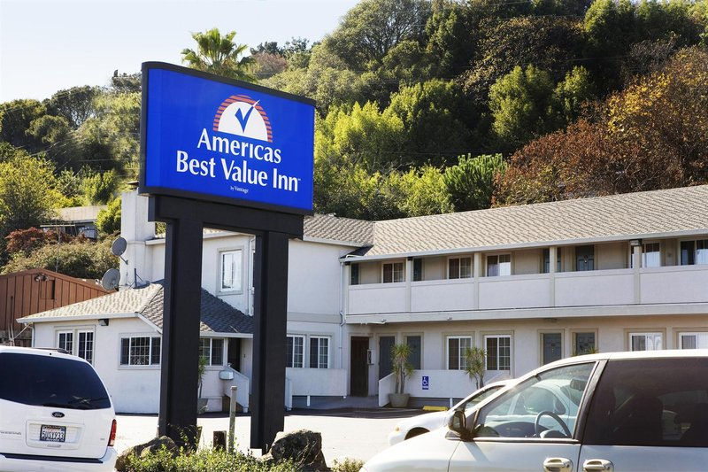 Americas Best Value Inn-Corte Madera/San Francisco 外観