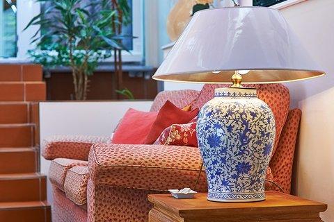 Xenios Apartments - Living Room Gardensuite