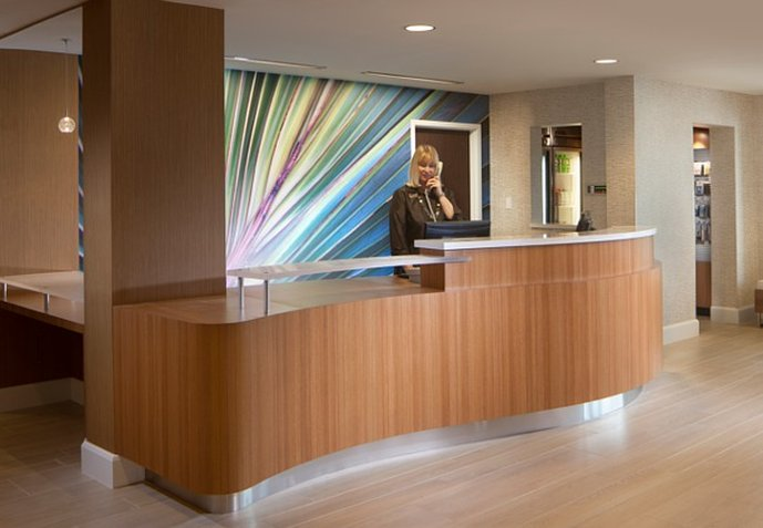 SpringHill Suites Boca Raton Lobby