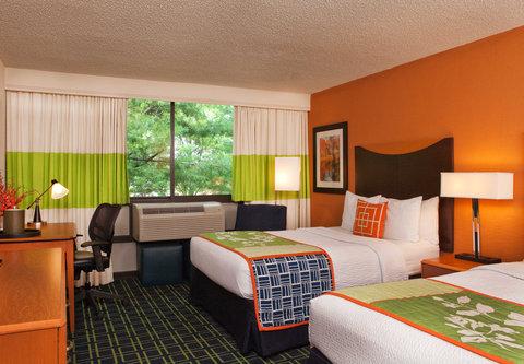 班戈費爾菲爾德酒店 - Double Double Guest Room