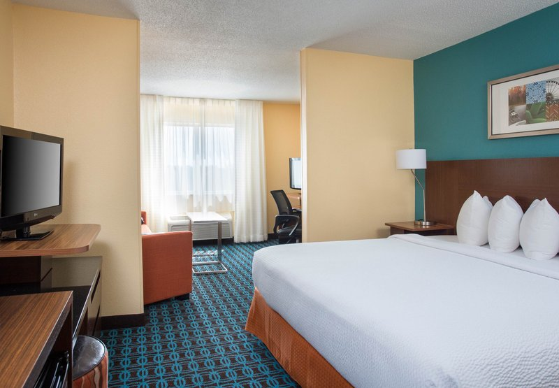 Fairfield Inn Branson 客室