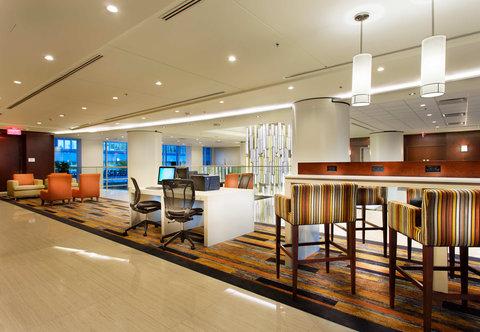 Courtyard Downtown Marriott - Business Center