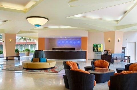 Curacao Hilton Hotel - Lobby