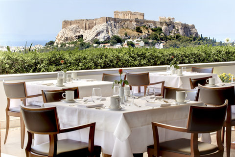 Hotel Grande Bretagne, a Luxury Collection Hotel, Athens - Roof Garden Day View