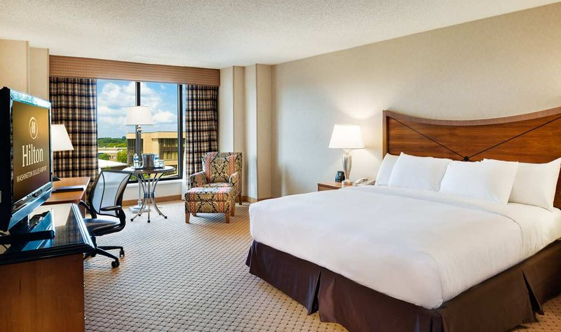Hilton Washington Dulles Airport 客房视图